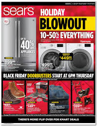 sears black friday 2017 ads deals and sales