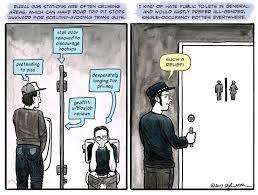 the 11 best cartoons fighting back against anti trans bathroom