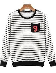 shop red long sleeve goufy dog print sweatshirt online sheinside