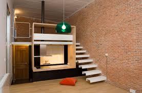 400 Square Foot Apartment by Loft Andrés Borrego Beriot Bernardini Arquitectos Archdaily