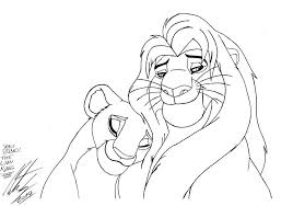 printable 62 disney coloring pages lion king 3012 lion