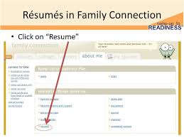 Resume Connection
