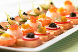 location canape canapes finest sandwiches on a background or assorted