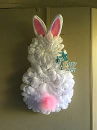 easter bunny wreath deco mesh easter bunny wreath bunny bunny gifts for rabbit