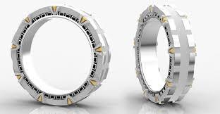geeky wedding rings nerdy mens wedding bands wedding bands wedding ideas and