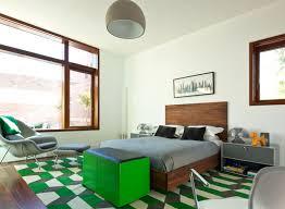 chambre grise et verte 12 idées de déco pour une chambre rafraîchissante en vert et gris