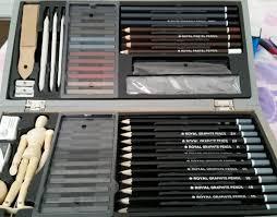 art set deluxe sketching artist box set royal u0026 langnickel