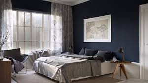 Royal Blue And White Rug Bedroom Wonderful Blue Wall Painting Bedroom With White Furry Rug