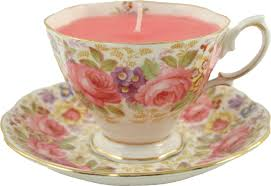 tea cup candles just cup of tea vintage tea cup candles