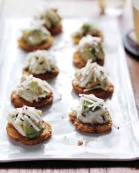 Dinner Party Hors D Oeuvre Ideas Baby Shower Appetizer Recipes Martha Stewart