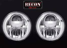 2012 jeep wrangler headlights part 264274cl jeep wrangler 07 16 led projector headlights with