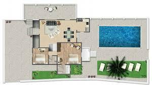 plan villa villa turquoise santa marina resort mykonos luxury hotel