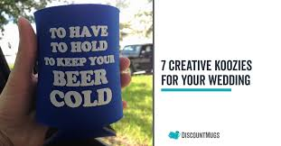wedding koozie quotes 7 most creative wedding koozies for your party