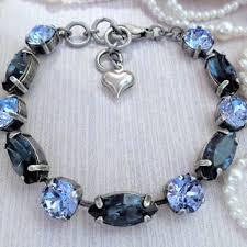 sapphire crystal bracelet images Best antique sapphire bracelet products on wanelo jpg