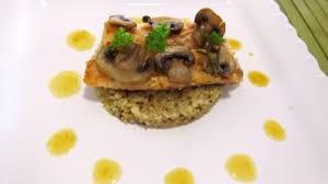 truite cuisine effilochés de truite et quinoa en risotto aux chignons
