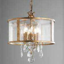 Shaded Crystal Chandelier Modern Glam Shaded Crystal Ceiling Light 3 Light Shades Of Light