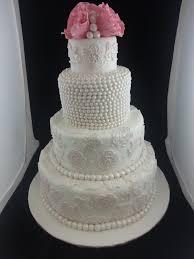 the orange apron cakery pearls u0026 lace wedding cake