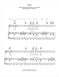 sheet by the world of arthur brown piano vocal