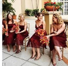 fall bridesmaid dresses mismatched bridesmaid dresses in fall weddingbee