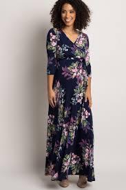 sleeve maxi dress navy floral sash tie wrap maxi dress