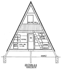 small a frame cabins a frame cabin plan with bedrooms plans loft simple rustic