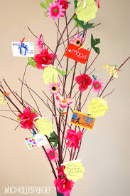 gift card tree blogs s day gift tree and flower bouquet