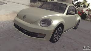 volkswagen bug 2012 volkswagen beetle turbo 2012 for gta san andreas