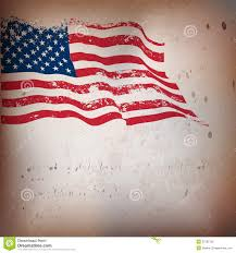 Us Flag Vector Free Download American Flag Vintage Textured Background Stock Vector Image