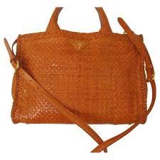 designer taschen second prada madras in papaya diese und weitere taschen auf www