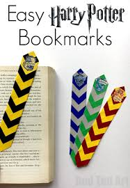 easy harry potter bookmarks red ted art u0027s blog