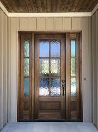 Exterior Door With Window Privacy Glass Front Door Curtains Best 25 Ideas On Pinterest