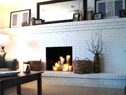 paint colors for fireplaces awesome paint colors brick fireplace