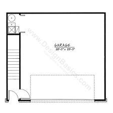 detached garage floor plans from design basics