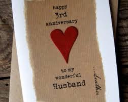 3rd wedding anniversary third anniversary etsy