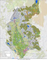 Chico State Map Watershed Information Caring For Our Watersheds