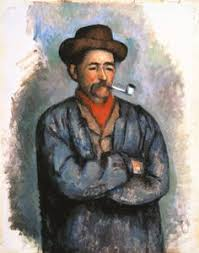 Madame Cezanne In A Red Armchair Paul Cézanne Man With A Pipe 1895 Paul Cézanne Pinterest