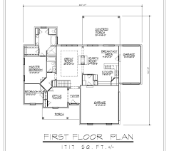 ranch house plans with basement