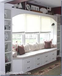 how to build a window seat my cottage charm how to build a window seat