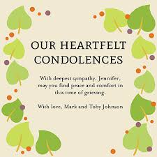 sympathy cards oubly