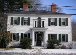 federal style house andover s architectural styles andover historic preservation