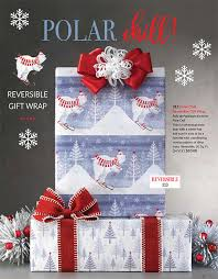 christmas wrapping paper fundraiser winter gift fundraising brochure up to 50 profits