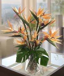 atlanta flower delivery birds of paradise tropical flower arrangement deliver today