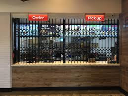 concertina door s05 1 heavy duty security door security doors