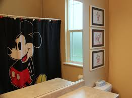 Red Mickey Mouse Curtains Mickey Mouse Bathroom Set Walmart