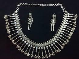 silver necklace set images Antique silver necklace set buy silver necklace set product on jpg