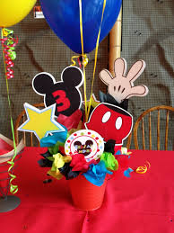 mickey mouse clubhouse centerpieces mickey mouse clubhouse birthday centerpieces search