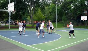 Best Backyard Basketball Court by Basketball Courts Parks U0026 Recreation