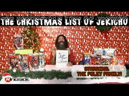the christmas list mick foley family fulfill the christmas list of jericho at