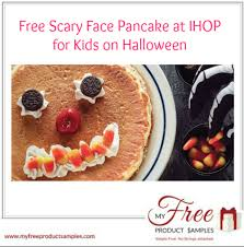 ihop black friday deals free scary face pancake at ihop for kids on halloween