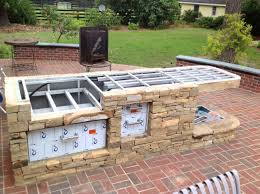 Metal Stud Outdoor Kitchen - home design how to build an outdoor kitchen with metal studs